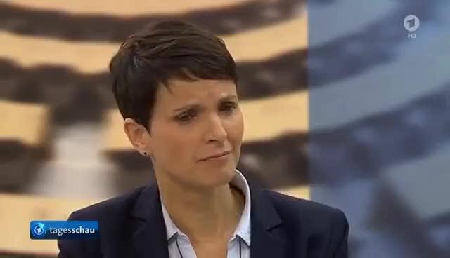 Watch and share Frauke Petry (AFD) Äußert Sich Zu Ihrem Austritt - Alles Lange Geplant? GIFs on Gfycat