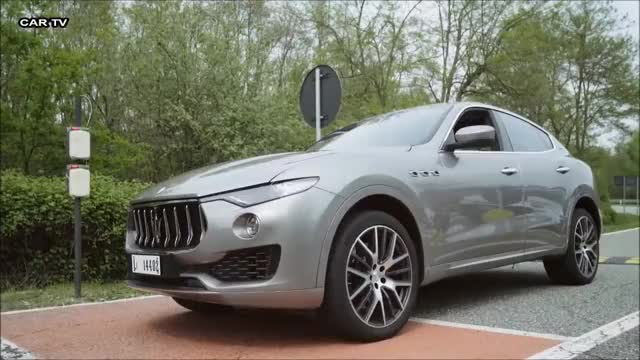 Watch 2017 Maserati Levante - Test Drive on Track GIF on Gfycat. Discover more acceleration GIFs on Gfycat