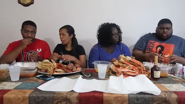 Watch Seafood Feast | Q&A GIF on Gfycat. Discover more mukbang, seafood, shrimp GIFs on Gfycat