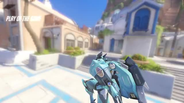 Watch and share Pharah Pog GIFs and Overwatch GIFs by PurpleSky on Gfycat