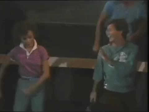 Watch 1980s Dance Party GIF by The Kitsch Bitsch (@thekitschbitsch) on Gfycat. Discover more 1980s, dance, dance party usa, dancing, funny, nostalgia, pop collar, retro, rick dees, vintage GIFs on Gfycat