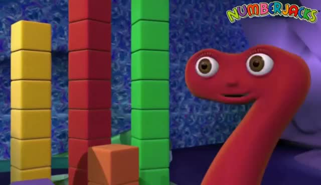 Watch and share Numberjacks - All Of The Meanest Meanie Challenges GIFs on Gfycat