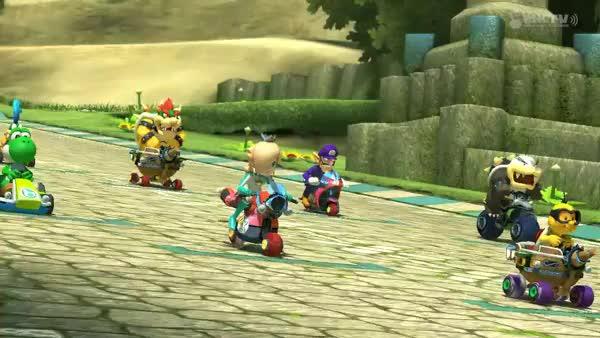 Wii U - Mario Kart 8 - Thwomp Ruins (reddit) GIF | Find