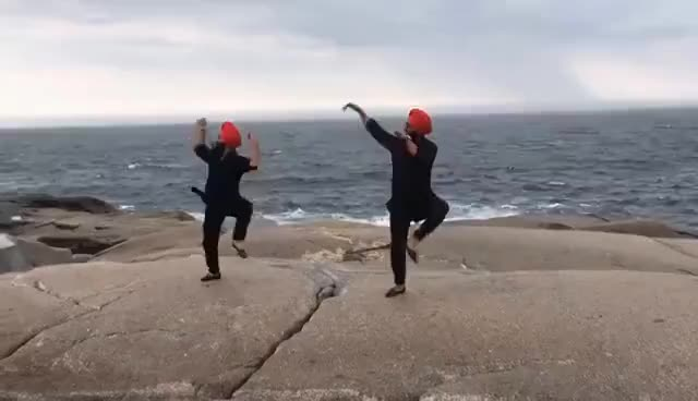 Jatt Mele a Gya || Maritime Bhangra Group || Bhangra at Peggy's Cove Halifax, NS, Canada