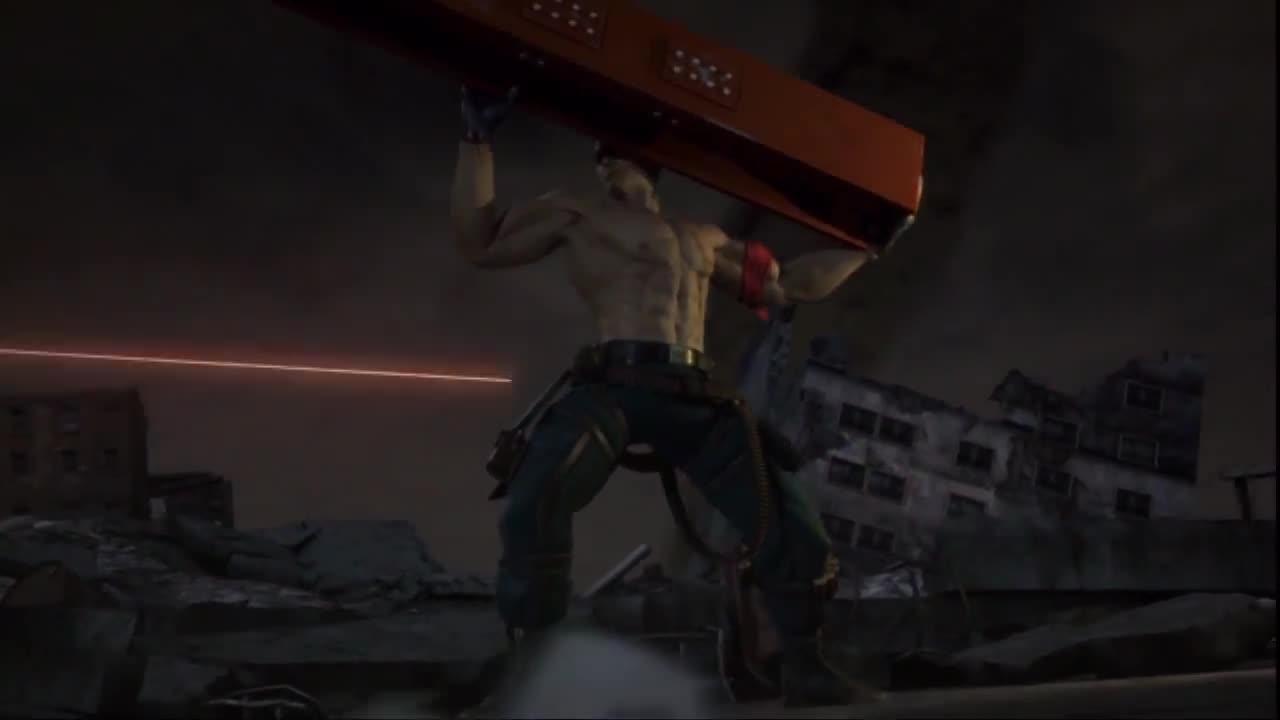Tekken 6 Bryan Fury Ending Hd 720p Gif By Gamerad94 Gfycat