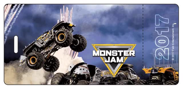 Watch and share Monster Jam 3D Collector's Ticket GIFs on Gfycat