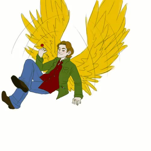 Watch and share Archangel Gabriel GIFs and My Art GIFs on Gfycat