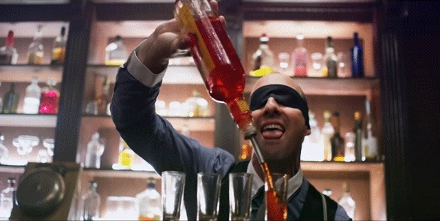 tony hale, Tony Hale- Bartender- Bottle lick GIFs