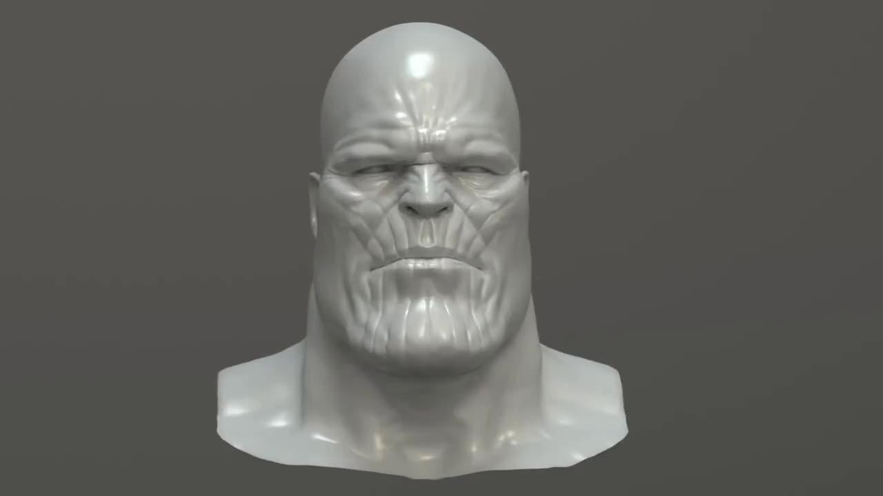 Creation, Thanos, THANOS creation - VFX Breakdown GIFs