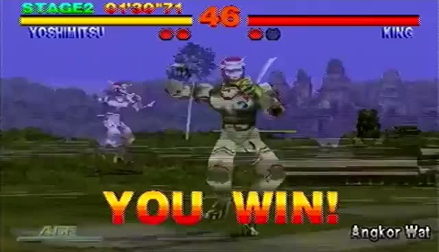 Watch T1 Yoshimitsu Win Pose GIF on Gfycat. Discover more Tekken GIFs on Gfycat
