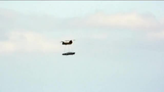 Watch UFO Sightings Chinook helicopter Airlifts Unidentified Object! Is this a Flying Saucer? GIF on Gfycat. Discover more sightings, ufo, unidentified flying object GIFs on Gfycat