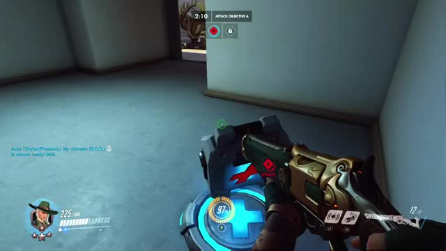 Watch Hollywood strat GIF on Gfycat. Discover more ana, overwatch GIFs on Gfycat