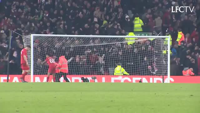 Watch Southampton fans at Anfield GIF on Gfycat. Discover more Fans, anfield, eflcup, explosive, goal, lfc, liverpool, southampton GIFs on Gfycat