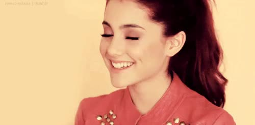 Watch and share Ariana Grande Smiling GIFs on Gfycat