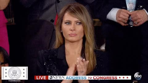 Watch and share Melania Trump GIFs and Applause GIFs on Gfycat