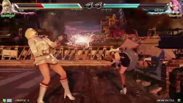 Watch and share Tekken7 Lili(dass) Vs Alisa(Madrid) Korea Online Battle GIFs on Gfycat