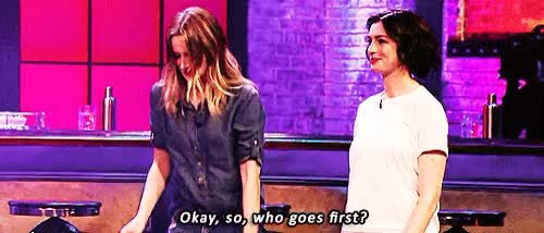 Watch Lip Sync Battle    Emily Blunt & Anne Hathaway GIF on Gfycat. Discover more actress, anne hathaway, cuties, dwp, emily blunt, lip sync battle, lsb, the devil wears prada GIFs on Gfycat