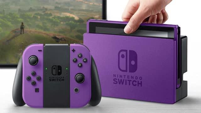 Nintendo Switch - Custom Color Mock-ups