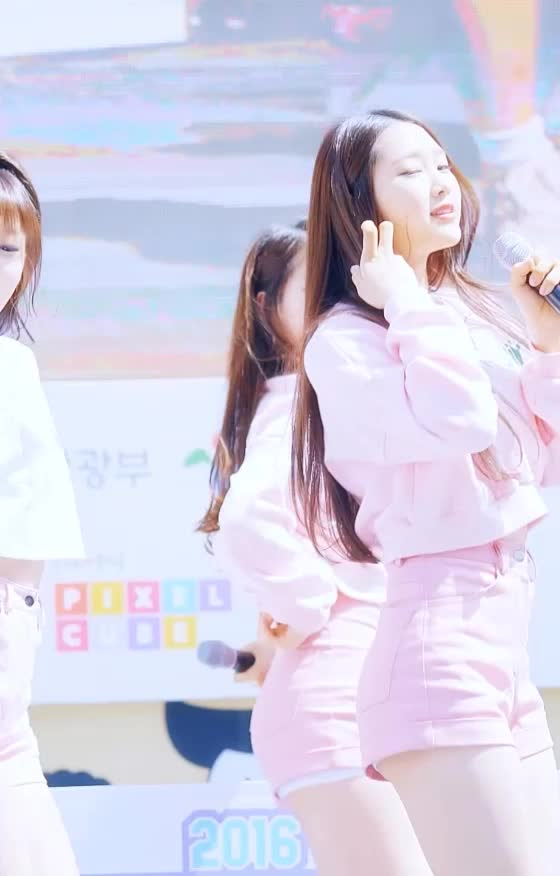 Watch and share 오마이걸(OhMyGirl) 지호3 GIFs by koreaactor on Gfycat