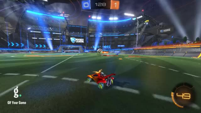 Watch Save 4: Andrei GIF by Gif Your Game (@gifyourgame) on Gfycat. Discover more Flamandsky paren', Gif Your Game, GifYourGame, Rocket League, RocketLeague, Save GIFs on Gfycat