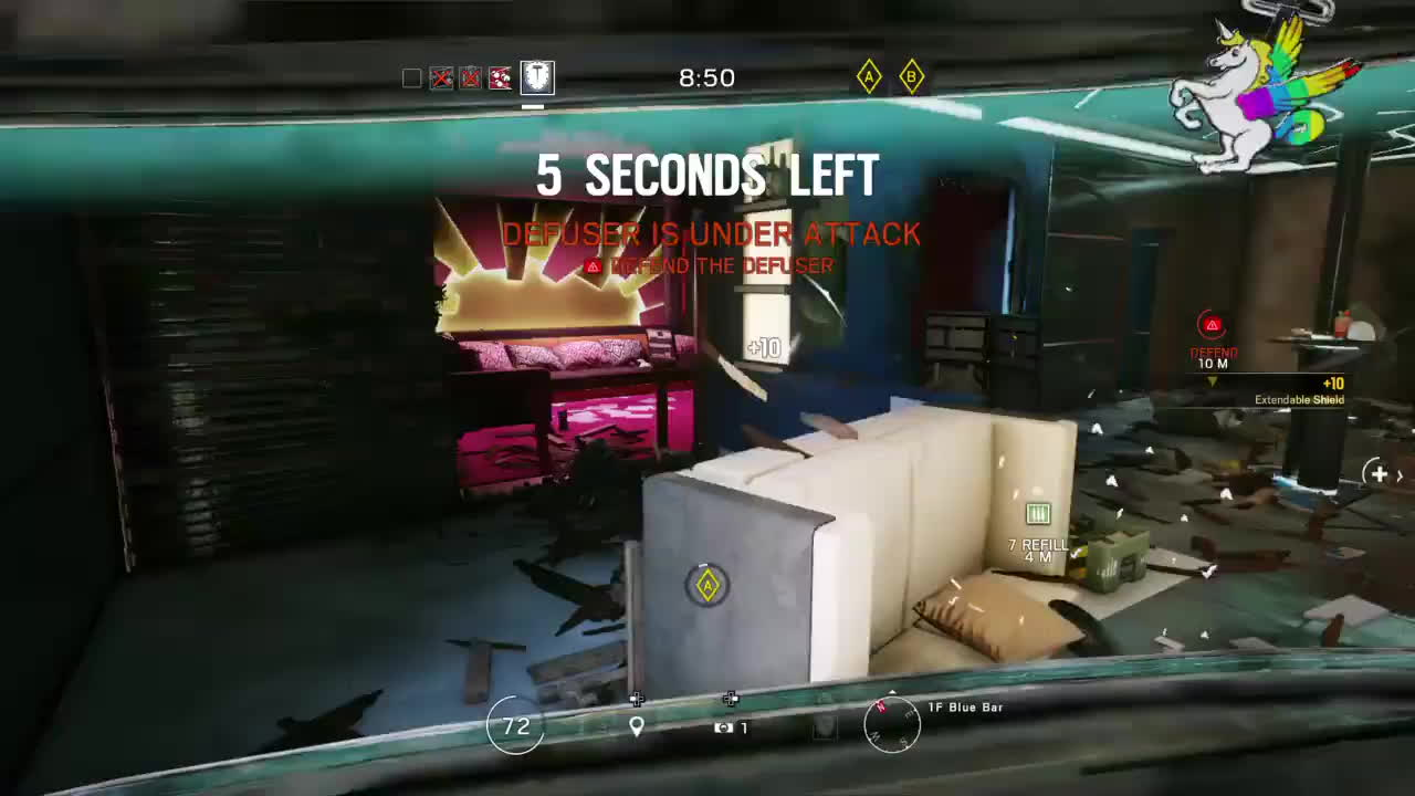 ps4, rainbowsixsiege, What to do when you're Last man standing GIFs