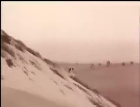 Buster Keaton avalanche scene