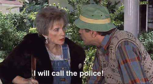 Watch I will call the police GIF on Gfycat. Discover more anonymous, film, gif, herbert ross, ouiser boudreaux, shirley maclaine, steel magnolias GIFs on Gfycat