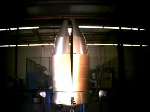 SpaceGfys, spacegfys, Falcon 1 Fairing Test GIFs