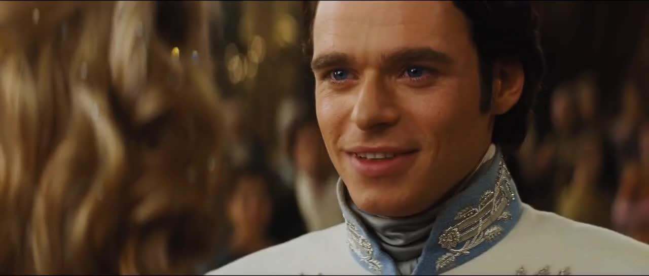celebrity, celebs, lily james, richard madden, Cinderella 2015 Royal Ball Scene GIFs