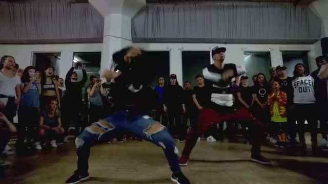 Watch WORK - Rihanna Dance Video | @MattSteffanina Choreography ft Fik-Shun GIF by Funny GIFs (@gnchau) on Gfycat. Discover more drake, rihanna, work GIFs on Gfycat