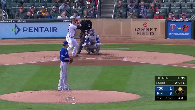 Watch and share Toronto Blue Jays GIFs and Minnesota Twins GIFs by larrybryers31 on Gfycat