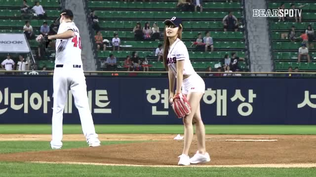 Watch Choi Seolhwa GIF by The Angry Camel (@theangrycamel) on Gfycat. Discover more Asianhotties, baseballgifs, koreangirls GIFs on Gfycat