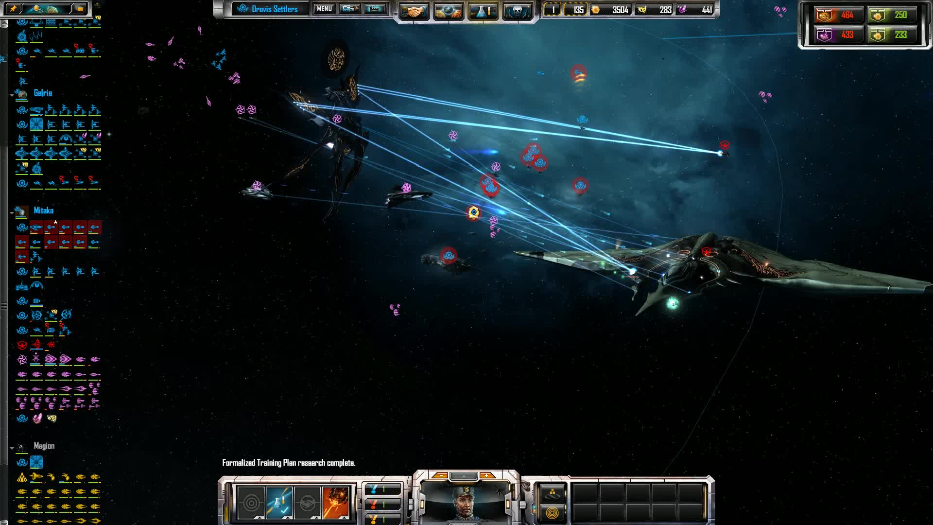 Sins of a Solar Empire: Rebellion | Blue & Pink vs Red GIFs