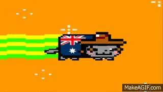 Watch and share Australian Nyan Cat (HD) GIFs on Gfycat