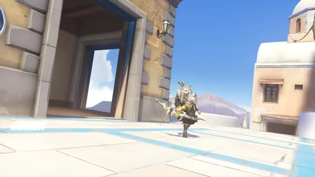 Watch and share Hanzo Highlight GIFs and Overwatch GIFs by artemis8219 on Gfycat