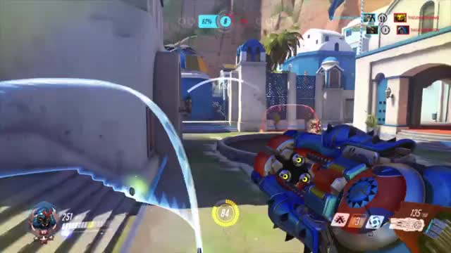 Watch Orisa flies GIF on Gfycat. Discover more Overwatch, ps4share, sony interactive entertainment GIFs on Gfycat