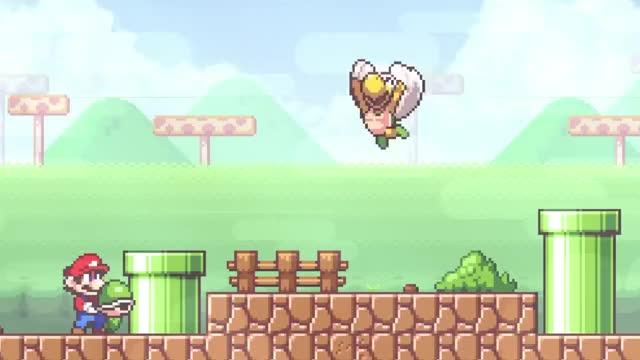Watch Super Mario Flashback - Amazing Mario Fangame! GIF on Gfycat. Discover more BTG, fan-game, fan-games, mario GIFs on Gfycat