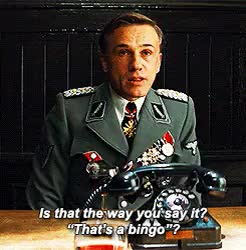 Watch and share Inglorious Basterds GIFs and Quentin Tarantino GIFs on Gfycat