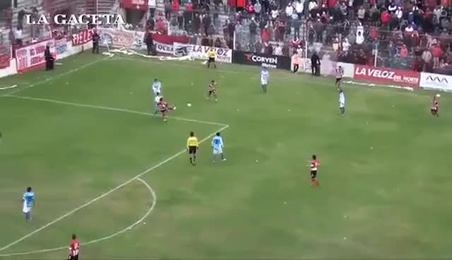 Watch and share Con Un Golazo, San Martín Le Ganó A Atlético En La Ciudadela GIFs on Gfycat