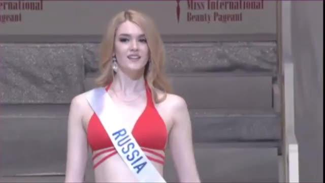 Alisa Manyonok - Miss International 2016