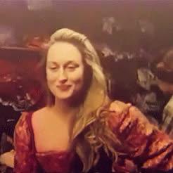 Watch Meryl Streep | 'Kiss me, Petruchio' 1981 (2) GIF on Gfycat. Discover more Meryl Streep, New York, The Taming of the Shrew, documentary, gif, kiss me Petruchio, mine, mstreep, theater, vintage GIFs on Gfycat