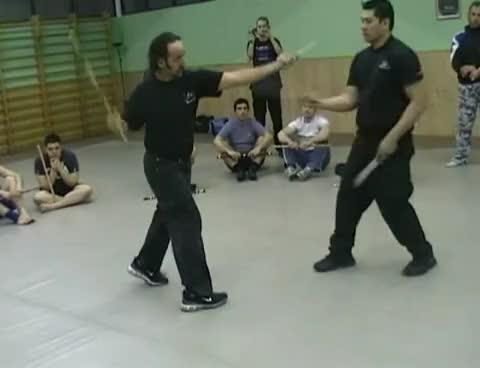 FCS KALI espada y daga GIFs