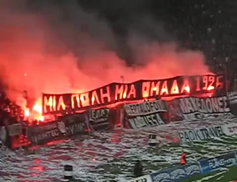 Watch and share PAOK GATE 4 GIFs on Gfycat