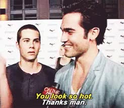 Watch this GIF on Gfycat. Discover more Dylan O'Brien, Sterek, derekhale, dylano'brien, hobrien, stilesstilinski, taylerhochlen, tw GIFs on Gfycat