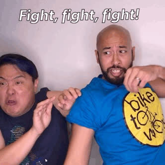 KimHuat, Singapore, mrbrown, Kim Huat Fight GIFs
