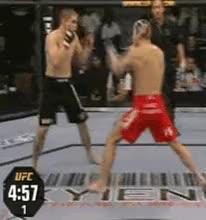 Duane Ludwig knocks out Jonathan Goulet GIF