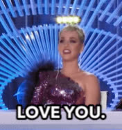 american idol, i love you, katy perry, love, love you, wig, Katy Perry - Love You GIFs
