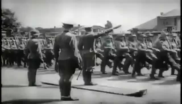 Watch and share Helenenmarsch German Soldiers WW2 GIFs by nahteo on Gfycat
