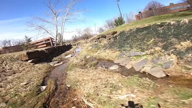 Watch FPV trench run GIF by FPVfire (@mbm2044) on Gfycat. Discover more creek, drone, flying, fpv, quad, racing, spring, water GIFs on Gfycat