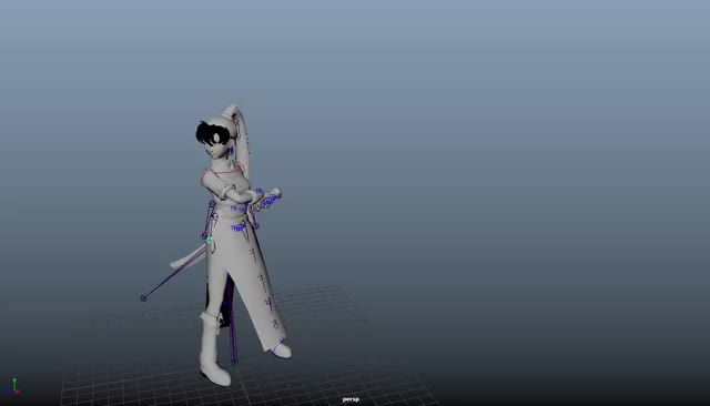 Watch and share Base Idle Pose (Wait1) [fine Tuning] GIFs on Gfycat